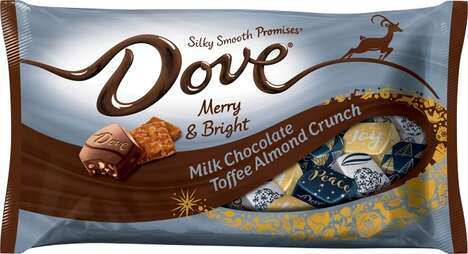 Festive Toffee Nut Chocolates