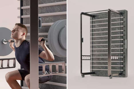 Furniture-Inspired Home Gyms