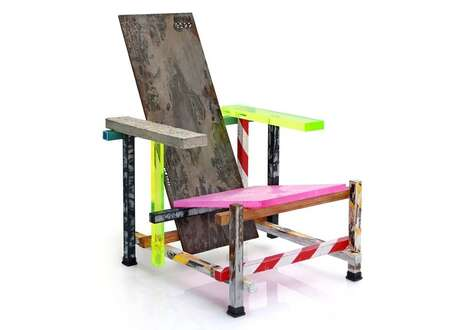 Artistic Climate Change Chairs
