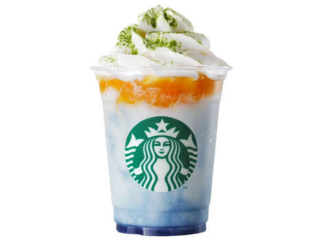Regionally Inspired Frappuccinos