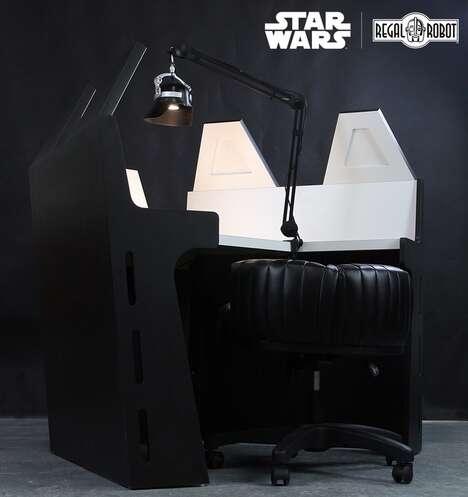 Sci-Fi Villain Workstations