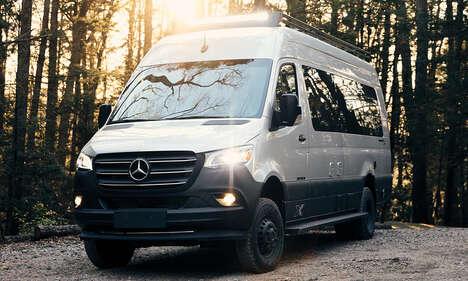 Four-Wheel-Drive Camper Vans
