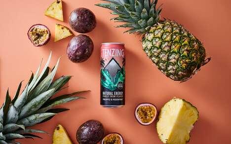 Tropically Enhanced Energy Drinks
