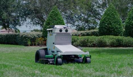 Robotic Commercial Landscaping Lawnmowers