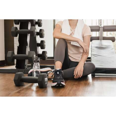 Neoprene-Covered Workout Weights