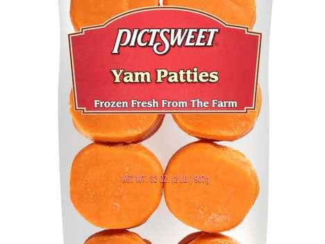 Yam-Based Burger Patties