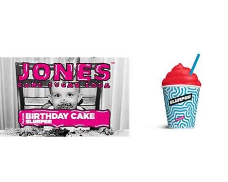 Cake-Flavored Frozen Refreshments