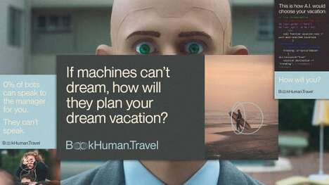 Human Travel Booking Ads