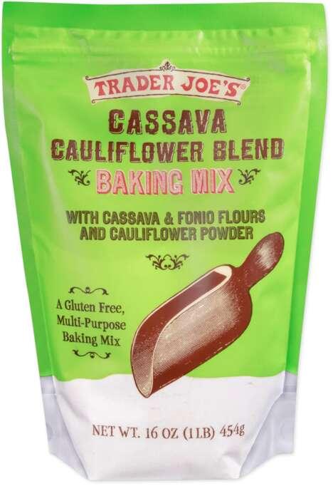 Cassava Cauliflower Baking Mixes