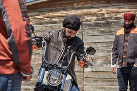 Protective Motorcyclist Turbans