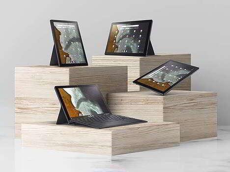 Versatile Quad-Position Laptops