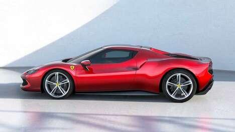 Sleek Curvaceous Sports Cars
