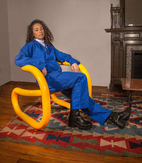 Tubular Looped Chairs