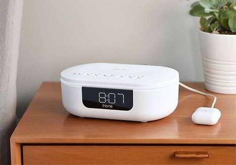 UV-C Sanitizer Technology Clocks