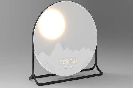 Landscape-Mimicking Alarm Clocks