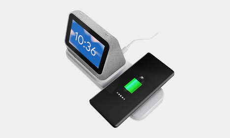 Wireless Charging Smart Clocks