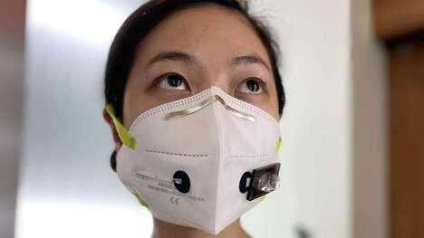 Virus-Detecting Face Mask Sensors