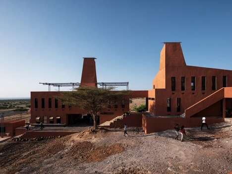 Termite Mound-Inspired Campuses