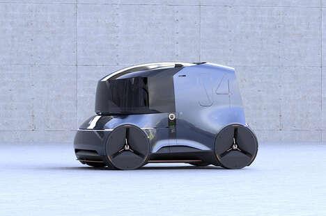 Autonomous Commuter Vehicle Designs