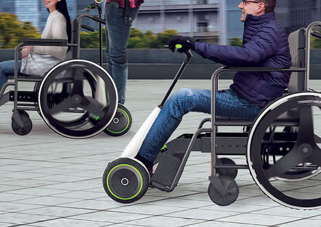 Two-in-One Wheelchair Transporters