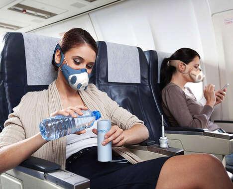 Consumption-Friendly Face Masks