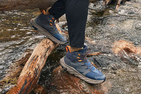 Sustainably Crafted Hiking Boots