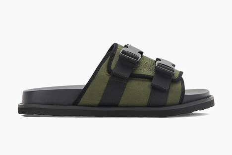 Recycled Ballistic Nylon Sandals
