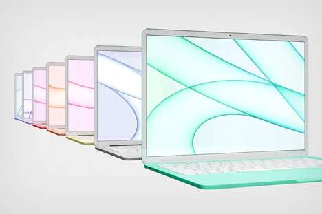 Candy Colored Laptop Concepts