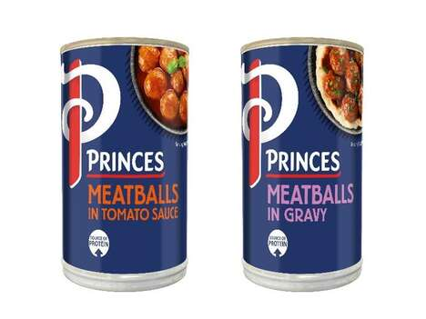 Canned Chicken Meatball Products