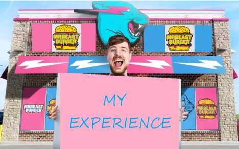 Influencer-Created Burger Experiences