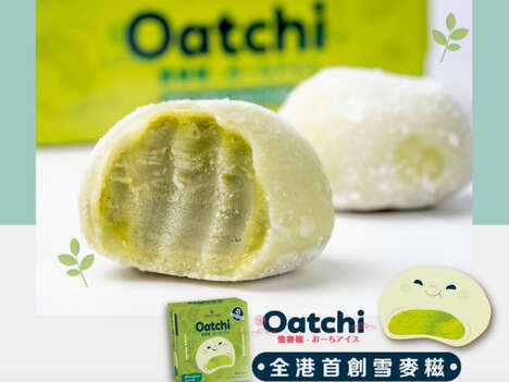 Oat-Based Mochi Desserts