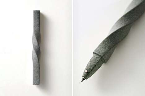 Twisted 3D-Printed Pens