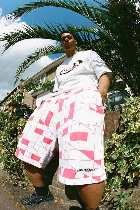 Summer-Ready Graphic Skate Apparel