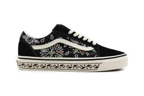 Paisley Floral Casual Footwear