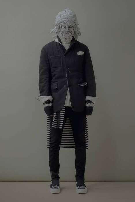 Irregularly Designed Fall Menswear