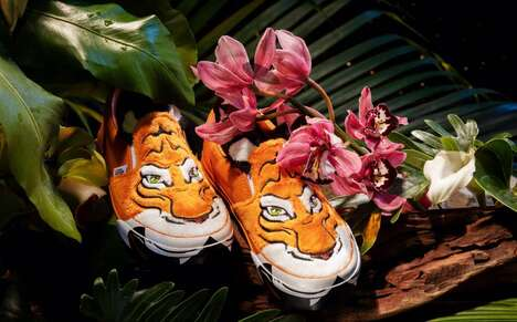 Tiger-Themed Footwear Collabs