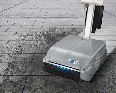 Cordless Industrial Floor Cleaners