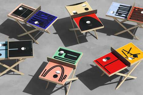 Artful Ping Pong Tables