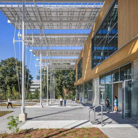 Energy-Positive Building Canopies