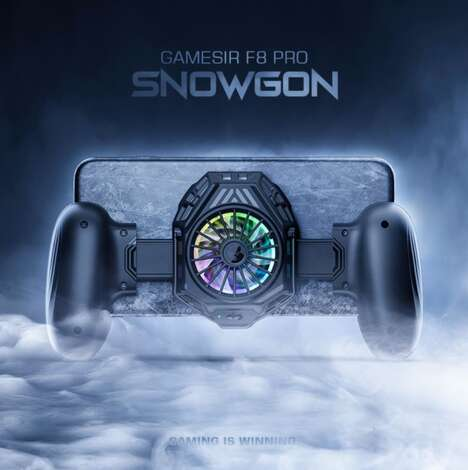 Cooling Mobile Gaming Controllers