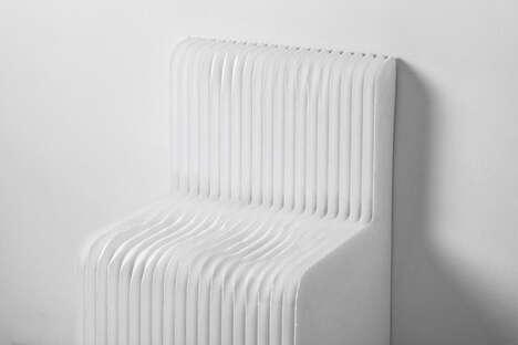 Shape-Molding Styrofoam Chairs
