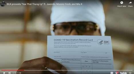 Vaccine-Encouraging Rap Campaigns