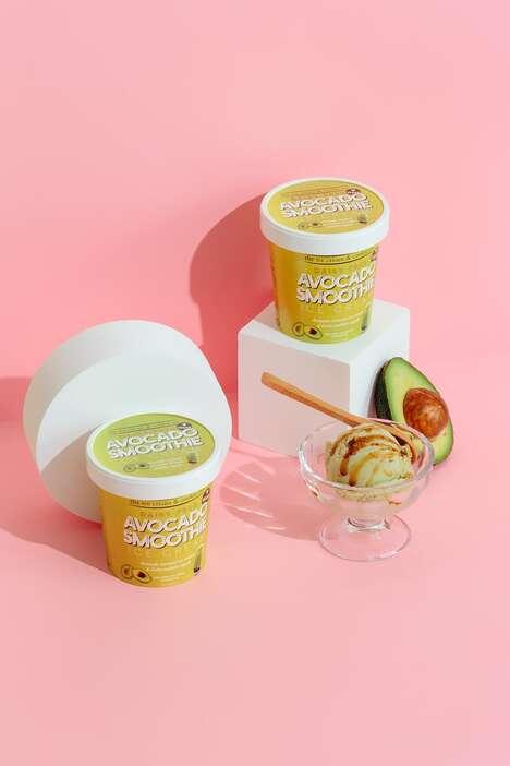 Dairy-Free Avocado Ice Creams