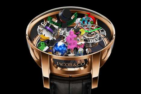 Playful Game-Inspired Luxury Watches