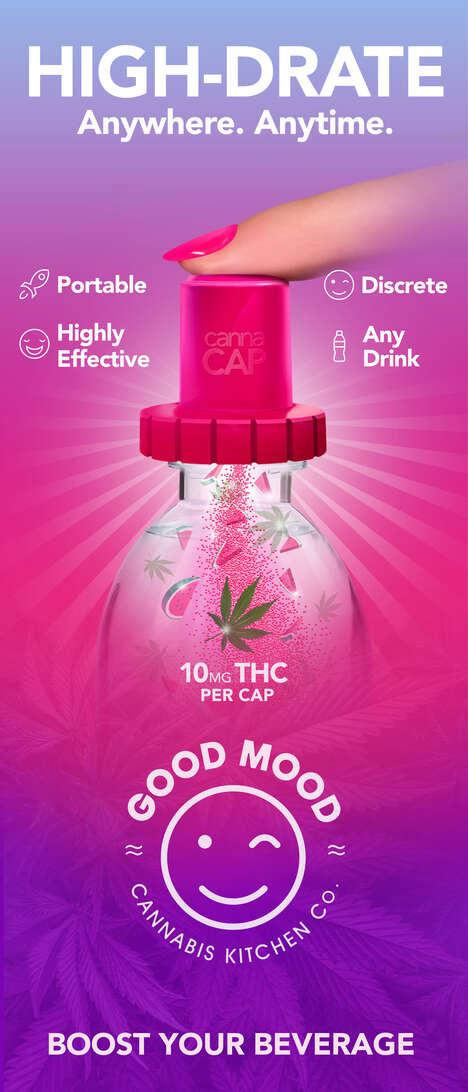 Cannabis Infusion Bottle Caps