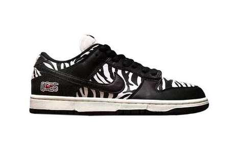 Safari-Themed Patterning Footwear