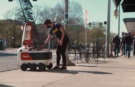 Robotic College Campus Deliveries