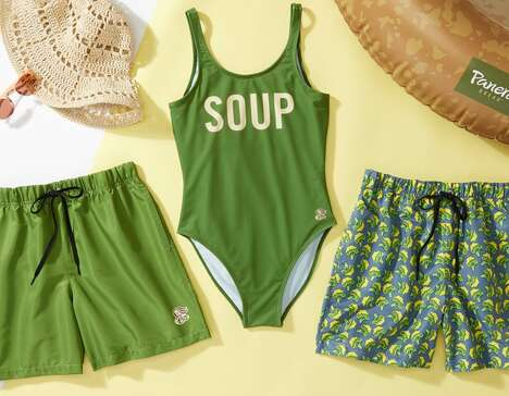 Soup-Themed Swimwear Collections