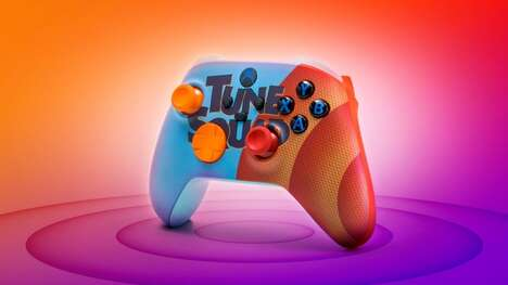 Cartoon-Themed Gaming Controllers