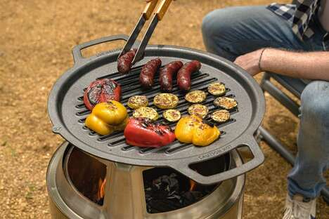 Coughproof Cast Iron Grills